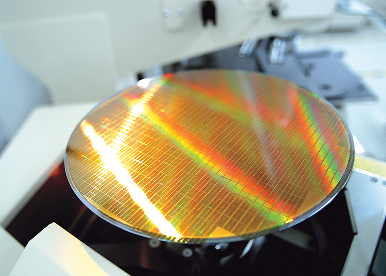 wafer microchip